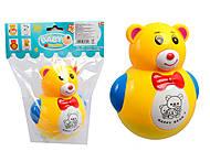 Детская неваляшка со светоэффектами, 606А-1, детские игрушки