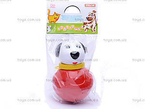 Неваляшка «Собачка», маленькая, 01676, купить