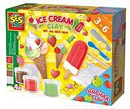 Незасыхающая масса для лепки «Мороженое», 0444S, купить