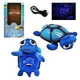 """Ночник """"Голубая Черепаха"""", ML88-6, детские игрушки"""