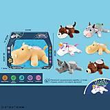 """Ночник мягкий с проектором """"Животные"""" музыка, свет, 6 видов, JD-9907A-F, toys"""