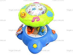 Музыкальный ночник «Дерево-проектор», SL83006, детские игрушки