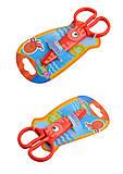 """Ножницы детские пластиковые 12,5 см """"ZOO"""" , 37275PTR, фото"""