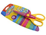 """Фигурные ножницы """"Colorino"""" 15,5 см (в ассортименте), 52184PTR, магазин игрушек"""
