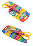 """Фигурные ножницы """"Colorino"""", 15,5 см, в ассортименте, 52184PTR, іграшки"""