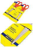 Офисные ножницы, 160 мм, красные (2 штуки), BM.4507-05, Украина