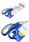 Ножницы с резиновыми вставками, 215 мм, синие, BM.4503, детские игрушки