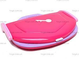 Ноутбук русско-английский для девочки, BSS003A E/R, детские игрушки