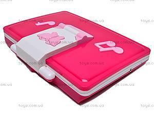 Ноутбук с микрофоном, BSS004A E/R, детские игрушки
