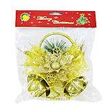 Новогоднее украшение подвеска «Колокольчики», С30527, фото