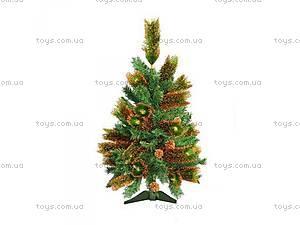 Новогодняя елка с шишками,