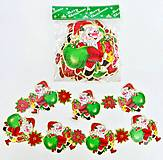 """Новогодняя гирлянда """"Дед Мороз"""", картонная, C30268, игрушка"""