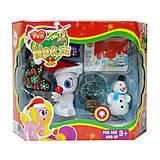 """Новогодний набор """"Lovely Pony"""" (с белым пони), 3216D, toys"""