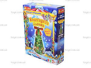 Набор для рукоделия «Новогодняя елка из ниток», 3139-02, купить