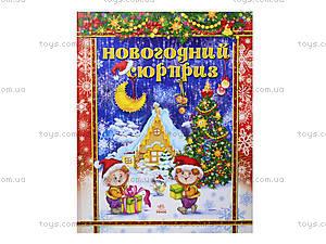 Книжка для детей «Новогодний сюрприз», Я11569Р, цена