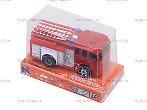 Инерционная машинка «Служебная», 0176701764, toys.com.ua