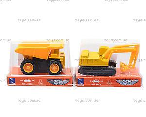 Игрушечная машинка «Строительная техника», 01627, игрушки