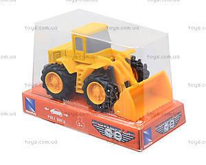 Игрушечная машинка «Строительная техника», 01627, детские игрушки