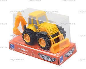 Игрушечная машинка «Строительная техника», 01627, магазин игрушек