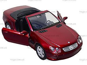 Коллекционная машинка Mercedes Benz SL 500, 50873A, фото