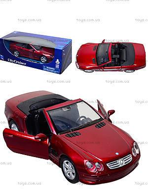 Коллекционная машинка Mercedes Benz SL 500, 50873A, отзывы