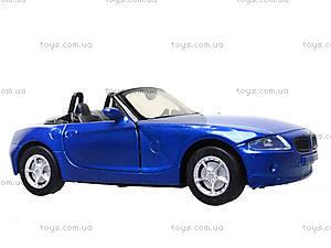 Коллекционная машинка BMW Z4, 51873C, детские игрушки