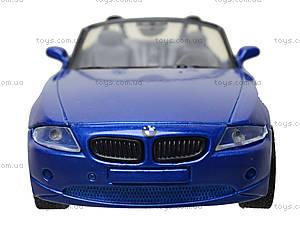Коллекционная машинка BMW Z4, 51873C, магазин игрушек