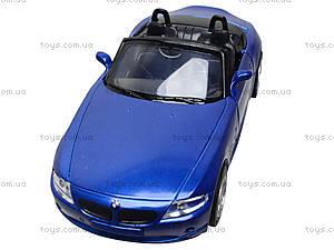 Коллекционная машинка BMW Z4, 51873C, toys