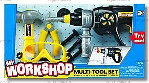 Набор инструментов с дрелью, K12762