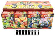 Ниндзя конструктор в коробке, разные, 79335, фото