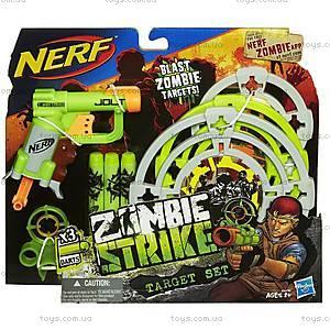 Игрушечный бластер «Зомби Страйк» с мишенями, A6636