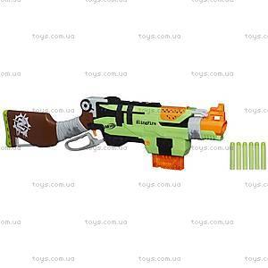 Игрушечный бластер Nerf «Зомби Страйк Слингфайр», A6563, купить