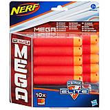 Набор запасных патронов NERF Mega, 10 штук, A4368, отзывы