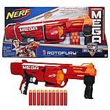 Игрушечный бластер Nerf «Мега РотоФьюри», B1269, фото