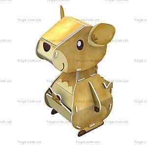 Объемный конструктор-головоломка «Дикие животные. Кенгуру», K1504h, купить