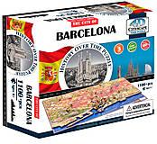 Объемный пазл Барселона, 1100 элементов, 4D Cityscape (174195), 40050, купить