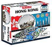 Объемный пазл Гонконг, 1100 элементов, 4D Cityscape (174198), 40026, фото