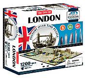 Объемный пазл Лондон, 1200 элементов, 4D Cityscape (174200), 40012, купить