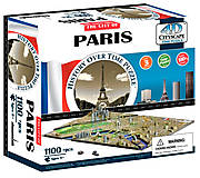 Объемный пазл Париж, 1100 элементов, 4D Cityscape (174202), 40028