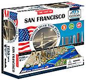 Объемный пазл Сан-Франциско, 1130 элементов, 4D Cityscape (174204), 40044, купить