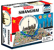 Объемный пазл Шанхай, 1100 элементов, 4D Cityscape (174209), 40040