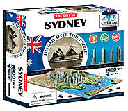 Объемный пазл Сидней, 1000 элементов, 4D Cityscape (174206), 40032