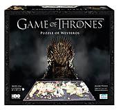 Объемный пазл «Игра Престолов: Вестерос», 1400 элементов, 51000, купить