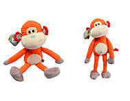 Веселая игрушка обезьянка Джо, К395В