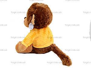 Музыкальная игрушка «Обезьяна в цветной кофте», M-ZY43250, купить