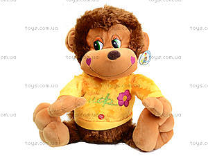Музыкальная игрушка «Обезьяна в цветной кофте», M-ZY43250, фото