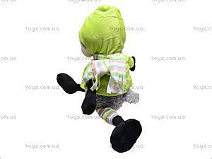 Игрушечная овечка «Николь», в одежде, К348А, купить