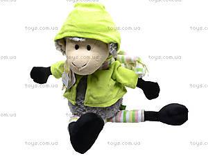 Игрушечная овечка «Николь», в одежде, К348А, цена