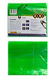 Обложка для тетради NEON А5 с клапаном, салатовая, ZB.4760-15