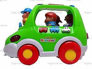 Обучающая игрушка «Автобус Познавайка», 6012, фото